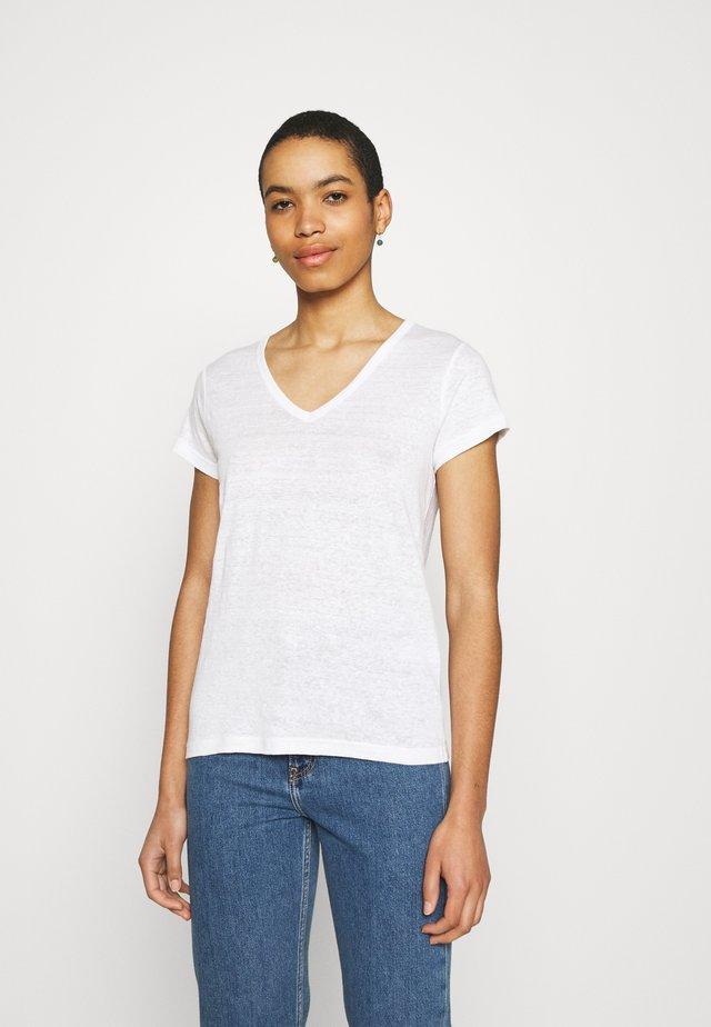 VEE - T-shirt basic - white