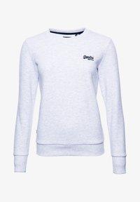 Superdry - ORANGE LABEL CREW  - Sweatshirt - ice marl - 4