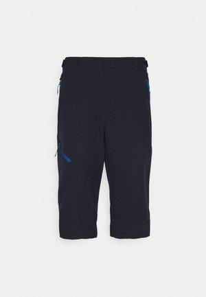 BALLARD - Träningsshorts 3/4-längd - dark blue