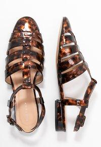 Topshop - OLIVE OPEN SHOE - Sandals - tortoise - 3