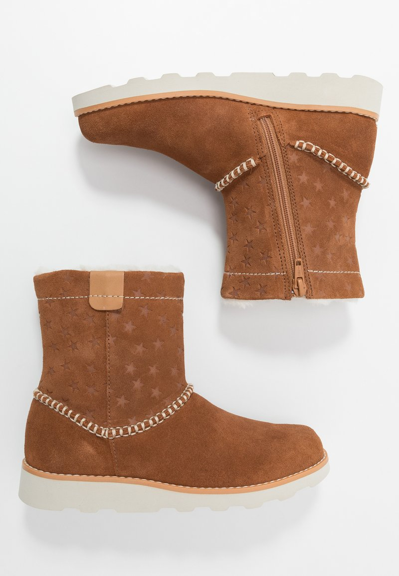 Clarks - CROWN PIPER - Classic ankle boots - tan