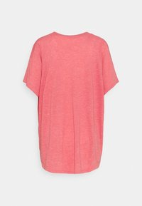 adidas Performance - WIN TEE - Camiseta estampada - hazy rose - 1