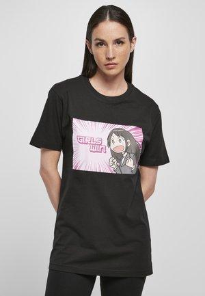 WIN TEE - T-shirt con stampa - black