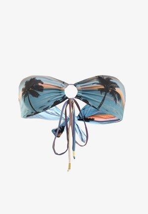 MARTINI BANDEAU  - Bikini top - tropical