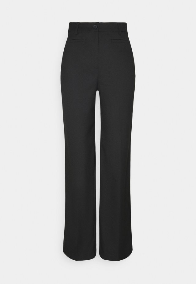 STACY TROUSERS - Pantaloni - black dark