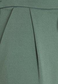 Vero Moda Tall - VMEVA LOOSE STRING PANTS  - Trousers - balsam green - 2