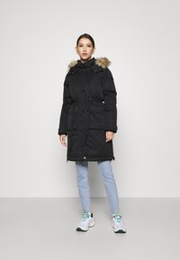 Hollister Co. - ELEVATED DOWN PARKA  - Down coat - black - 1