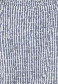 Abercrombie & Fitch - SMOCKED - Blůza - blue/white - 2