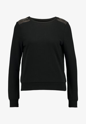 ONLPUTTE O-NECK - Sweatshirt - black