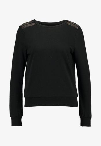 ONLPUTTE O-NECK - Felpa - black