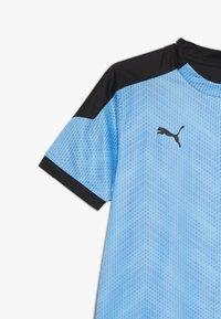 Puma - GRAPHIC - Print T-shirt - luminous blue/black - 3