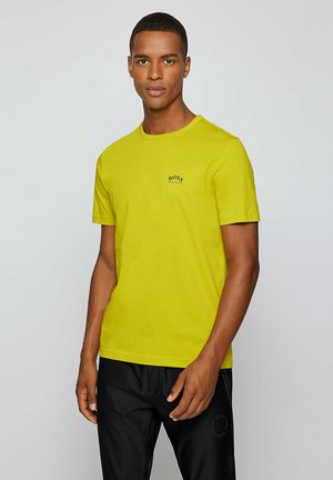 """""""TEE CURVED"""" - Basic T-shirt - green"""