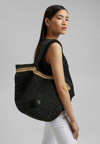 Esprit - RILEY  - Tote bag - black - 4