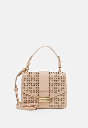 PIPER LASER CUT TOP HANDLE BAG - Handbag - blush