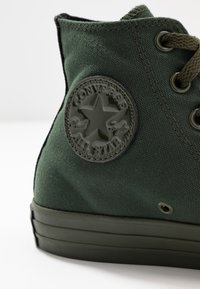 Converse - CHUCK TAYLOR ALL STAR OPI - High-top trainers - thyme/black - 2