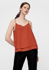 Pieces - PCBODIL SLIP - Top - ochre - 0
