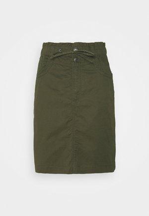 NEW PLAY - Mini skirt - khaki/green