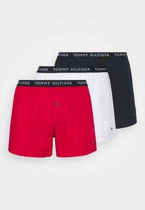3 PACK - Boxer - desert sky/white/primary red