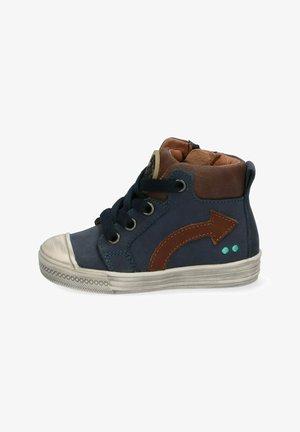 Sneakers hoog - blauw