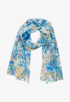 Sjaal - blau multicolor