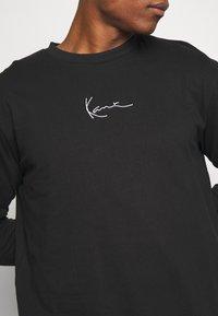 Karl Kani - Top sdlouhým rukávem - black - 5