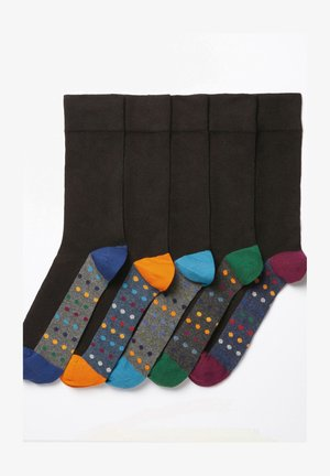 FIVE PACK - Socks - black