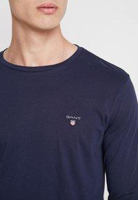 GANT - THE ORIGINAL - T-shirt à manches longues - evening blue - 4