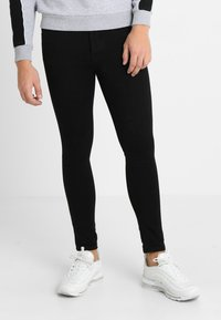 Gym King - SKINNY PLAIN  - Skinny-Farkut - black - 0