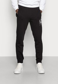 Armani Exchange - JOGGER - Pantaloni sportivi - black - 0