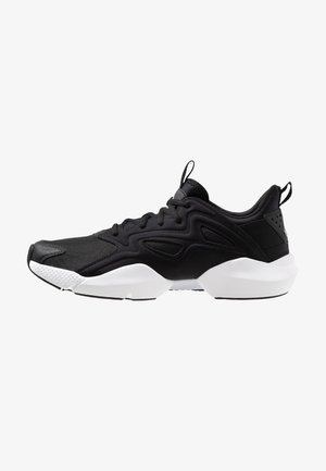 SOLE FURY ADAPT - Neutral running shoes - black/white/metallic silver
