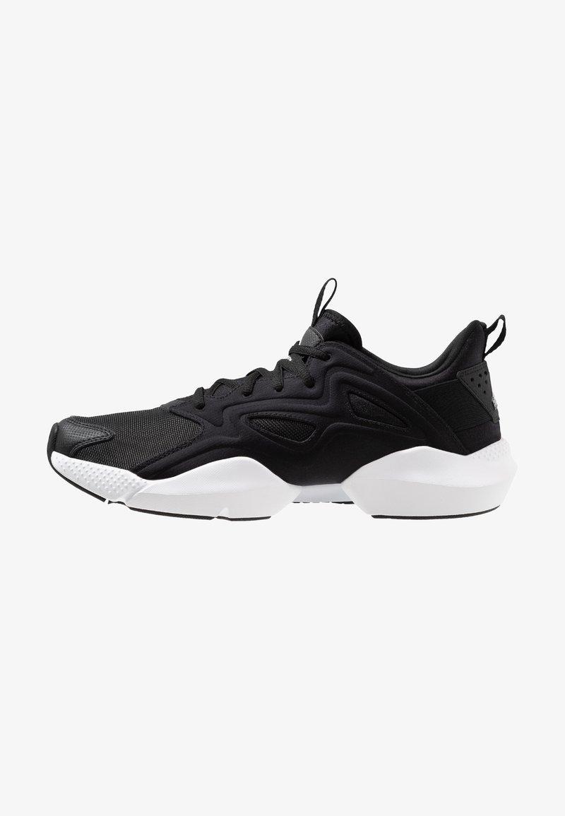 Reebok - SOLE FURY ADAPT - Neutral running shoes - black/white/metallic silver