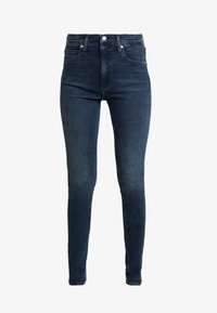 Calvin Klein Jeans - HIGH RISE SKINNY - Jeans Skinny Fit - shaded blue black smart - 4