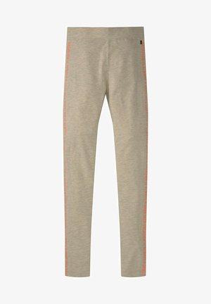 Leggings - Trousers - kids offwhite melange