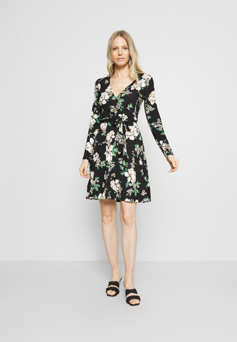 Anna Field - Day dress - black/multi-coloured