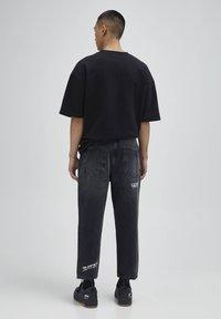 PULL&BEAR - Jeans baggy - black - 2