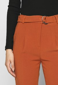 Benetton - TROUSERS - Trousers - brown - 4