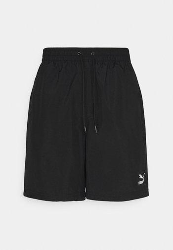 CLASSICS LOGO SHORTS - Shortsit - black