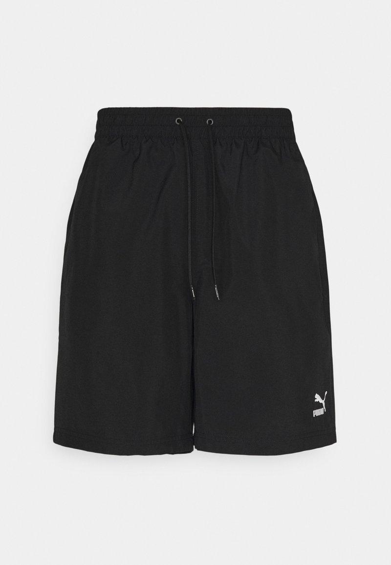Puma - CLASSICS LOGO SHORTS - Shorts - black