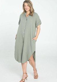 Paprika - Shirt dress - khaki - 0