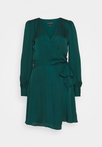 Banana Republic - VNECK WRAP SOLID - Cocktail dress / Party dress - glen green - 5