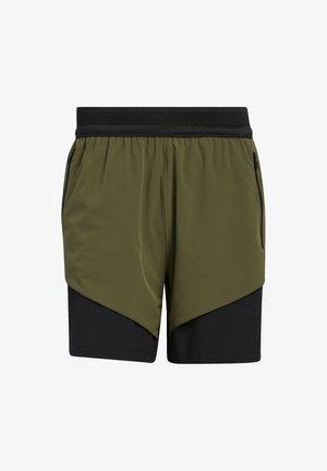 STUDIO TECH SHORTS - Sports shorts - green