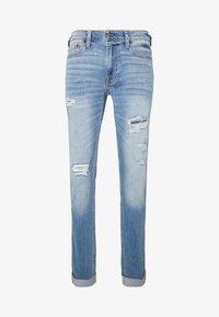 Hollister Co. - Jeans Skinny Fit - dark blue denim - 4