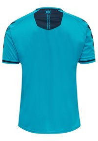 Hummel - T-shirt med print - atomic blue  black iris - 1