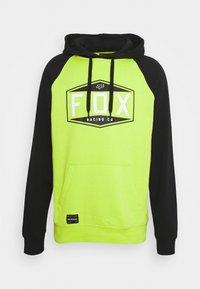 Fox Racing - EMBLEM RAGLAN - Sweatshirt - flo yellow - 0
