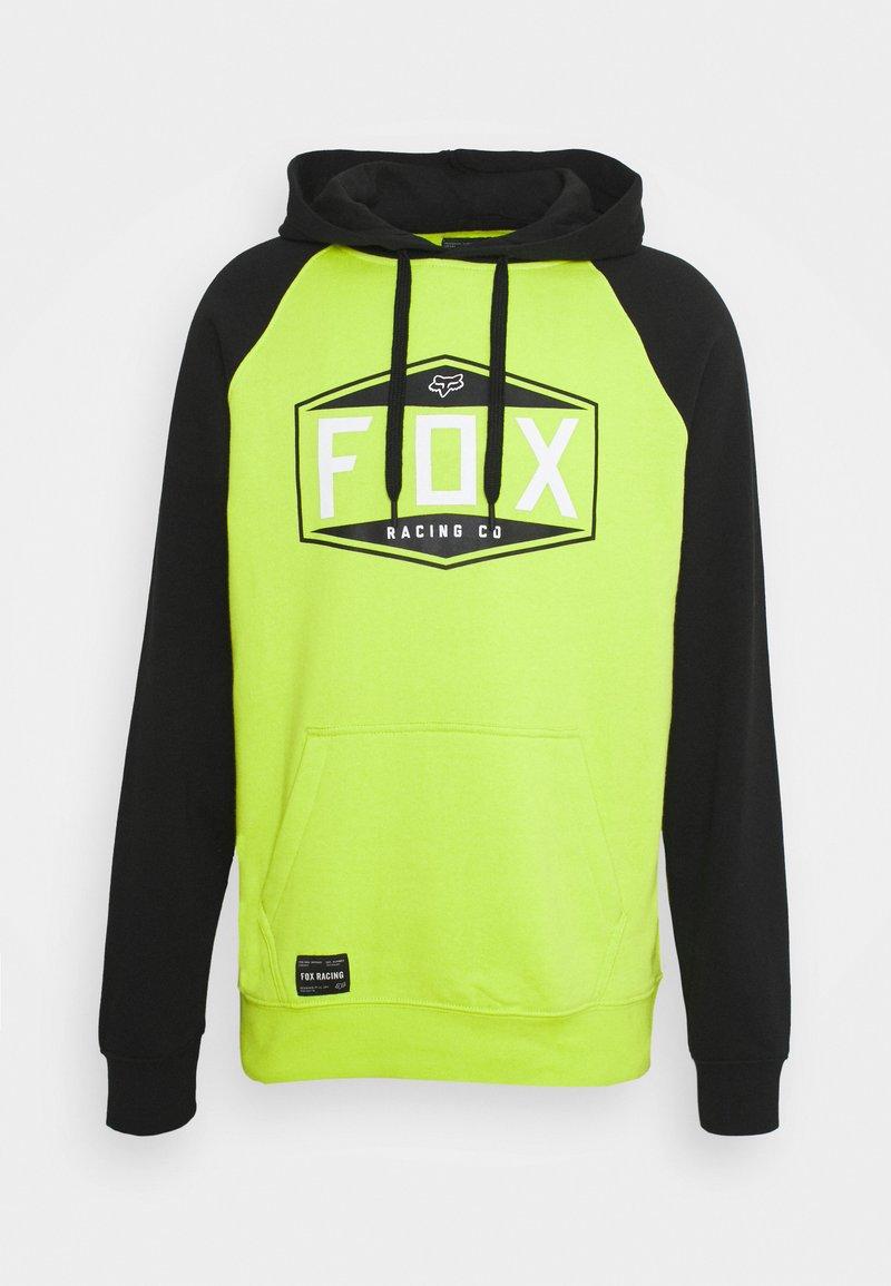 Fox Racing - EMBLEM RAGLAN - Sweatshirt - flo yellow