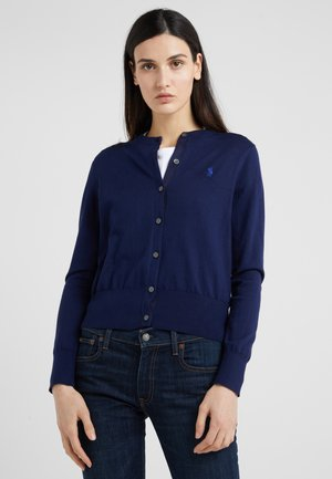 Cardigan - bright navy