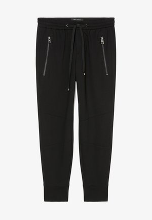 LONTTA - Pantalon de survêtement - black