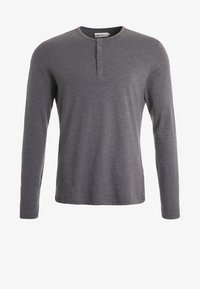 Pier One - Long sleeved top - dark grey melange - 5