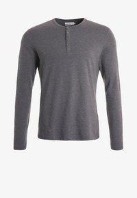 Bluzka z długim rękawem - dark grey melange
