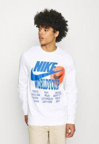 Nike Sportswear - Long sleeved top - white - 0